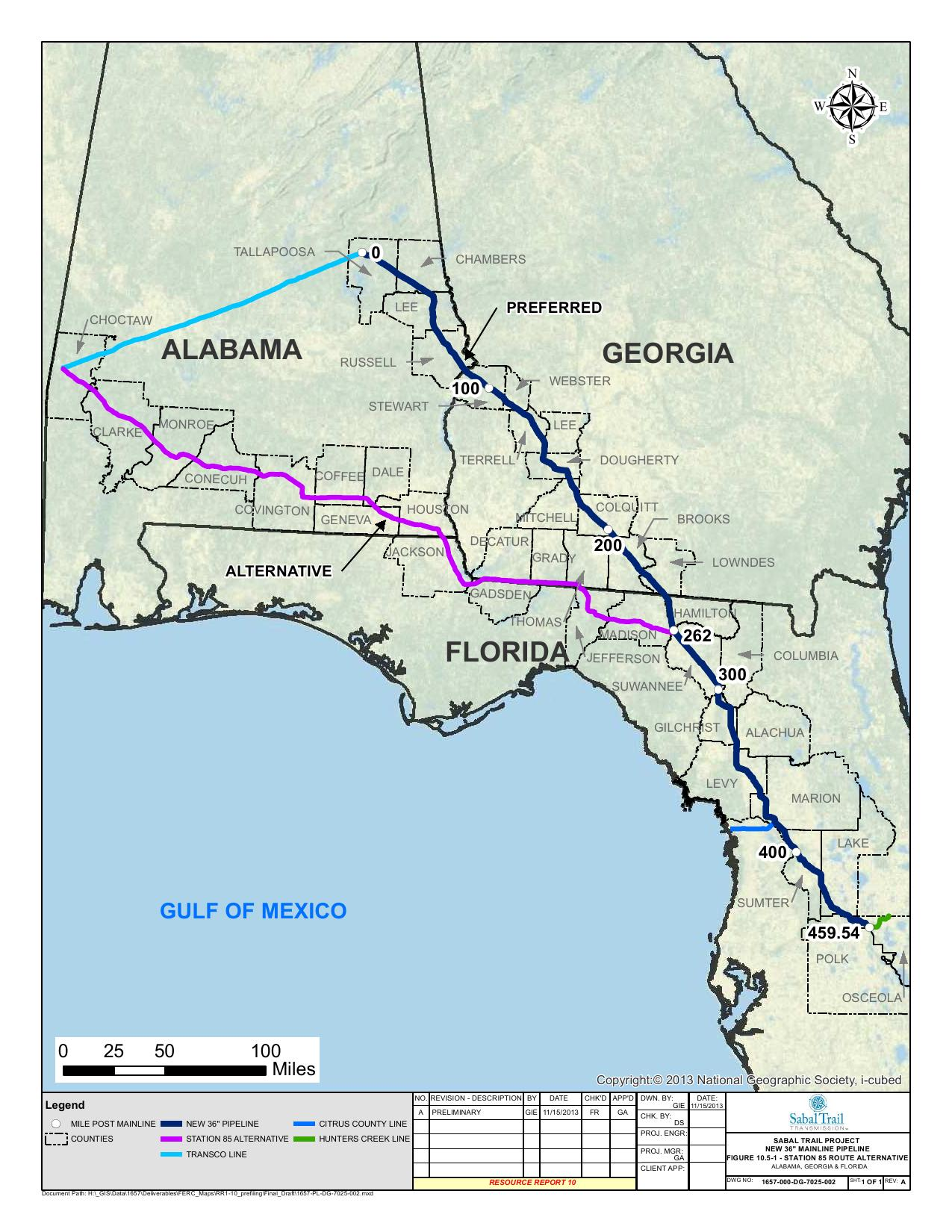 Conecuh County SpectraBusters - Map of alabama and florida