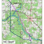 Ichetucknee River Deviation, Suwannee County, Columbia County, Gilchrist County, Florida, in Alternatives, by Sabal Trail Transmission, for FERC Docket No. PF14-1-000, 15 November 2013, converted by SpectraBusters