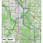 Gilchrist Westerly Deviation, Suwannee County, Gilchrist County, Florida, in Alternatives, by Sabal Trail Transmission, for FERC Docket No. PF14-1-000, 15 November 2013, converted by SpectraBusters