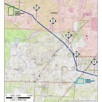 Albany Compressor Station, Dougherty County, Georgia, in Alternatives, by Sabal Trail Transmission, for FERC Docket No. PF14-1-000, 15 November 2013, converted by SpectraBusters