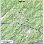 Jacksons Gap Quad, Tallapoosa County, Alabama, in General Project Description, by SpectraBusters, for FERC Docket No. PF14-1-000, 15 November 2013, converted by SpectraBusters