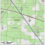I-10, Suwannee County, Florida, in General Project Description, by SpectraBusters, for FERC Docket No. PF14-1-000, 15 November 2013, converted by SpectraBusters