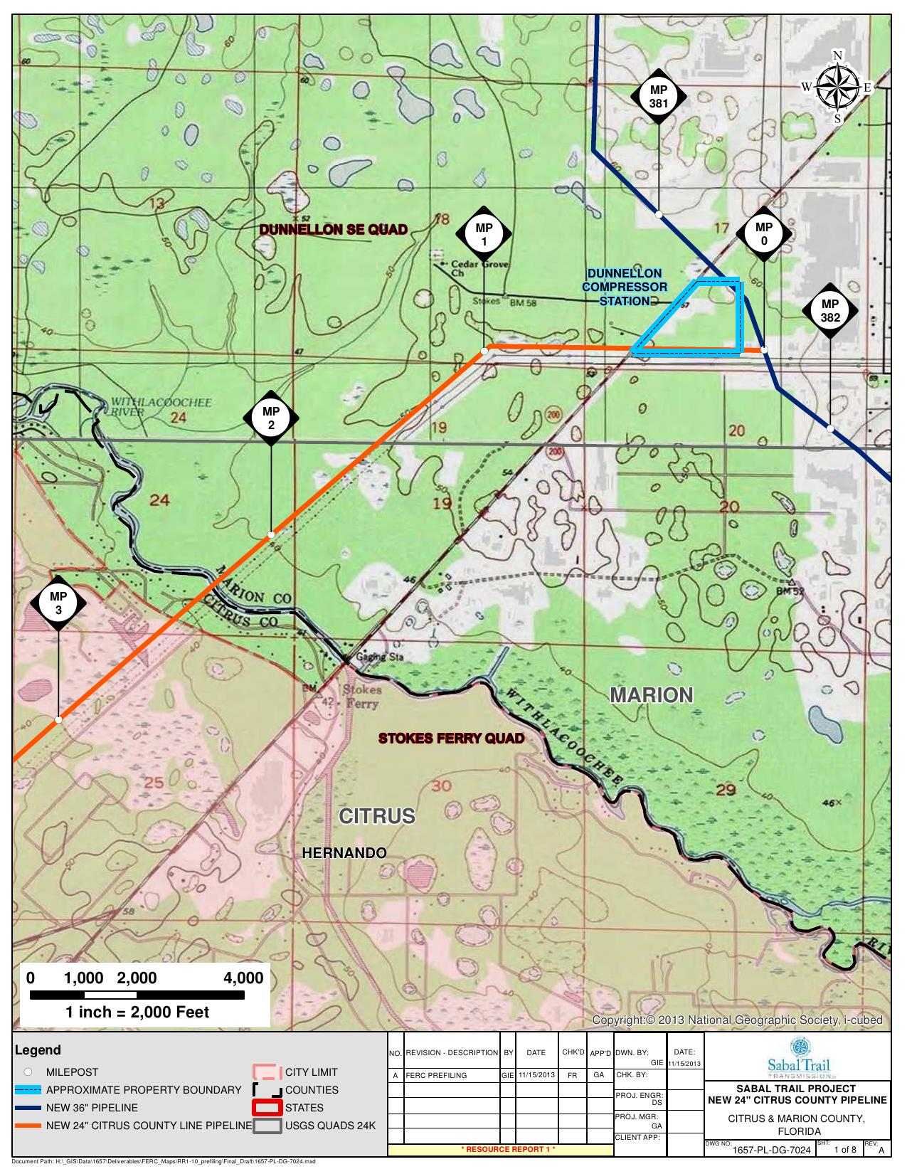 Hernando, Withlacoochee River, Dunnellon Compressor Station ... on suncoast parkway map, bradenton florida map, delaware florida map, withlacoochee river florida map, levy county florida map, pasco county florida map, saint johns county florida map, brevard county florida map, clay county florida map, hernando county map, st. johns river florida map, polk county florida map, west coast florida airports map, hernando florida map, lafayette county florida map, homosassa river florida map, lecanto florida map, bay county fl section map, winter park florida map, city island florida map,