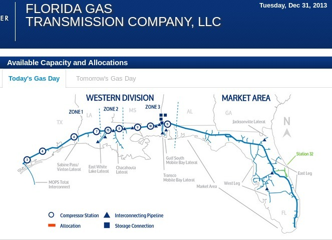 Sabal Trail Adding Pipeline Capacity but not Demand  BTU