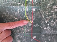 Where one landowner lives, in Gilchrist County Commission, by John S. Quarterman, for SpectraBusters.org, 20 February 2014