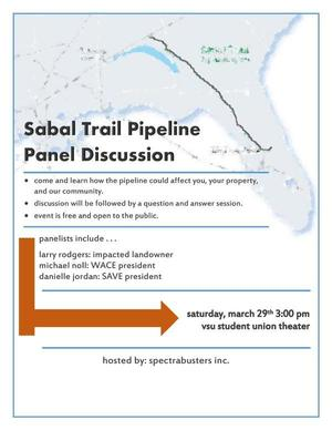 300x388 Discussion followed by questions and answers, in Sabal Trail Pipeline Panel Discussion, by Danielle Jordan, for SpectraBusters.org, 29 March 2014