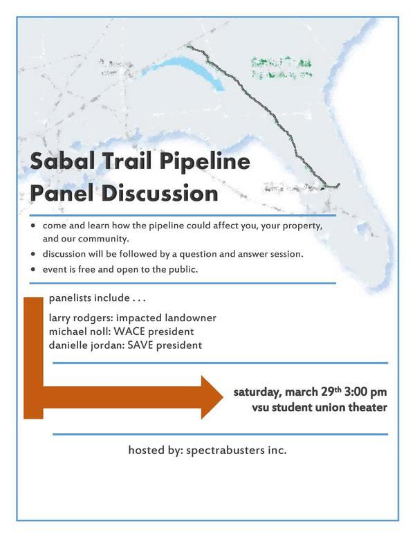 600x776 Discussion followed by questions and answers, in Sabal Trail Pipeline Panel Discussion, by Danielle Jordan, for SpectraBusters.org, 29 March 2014