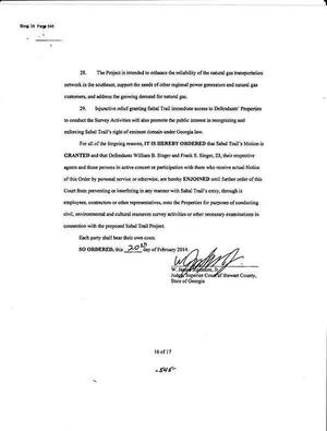 300x395 Stewart County court order, in Sabal Trail citing Stewart County injunction in Brooks County, Georgia