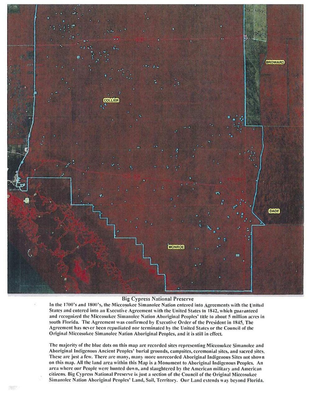 1000x1275 Big Cypress National Preserve, in Council of the Original Miccosukee Simanolee Nation, by John S. Quarterman, for SpectraBusters.org, 21 November 2013