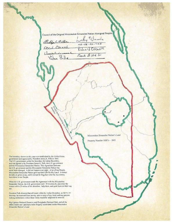 600x765 1845 Indian Boundary, in Council of the Original Miccosukee Simanolee Nation, by John S. Quarterman, for SpectraBusters.org, 21 November 2013