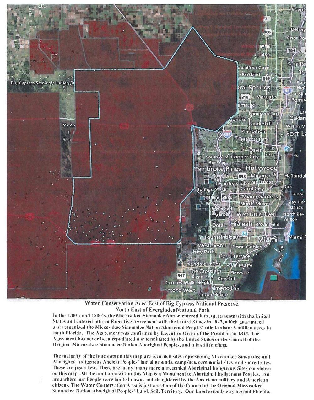 1000x1275 Water Conservataion Area East of Big Cypress National Preserve, in Council of the Original Miccosukee Simanolee Nation, by John S. Quarterman, for SpectraBusters.org, 21 November 2013