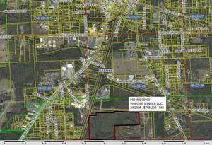 300x205 WW ONE Starke 04448-0-00000, in Bradford County Florida Property Appraiser, by John S. Quarterman, for SpectraBusters.org, 14 August 2014