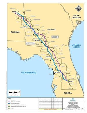 GreenLaw Alternative 2, in Response to FERC directive of 26 August 2014, by Sabal Trail Transmission, for SpectraBusters.org, 15 September 2014