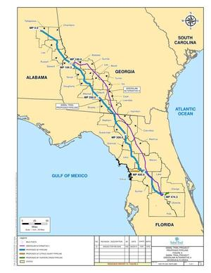 GreenLaw Alternative 4, in Response to FERC directive of 26 August 2014, by Sabal Trail Transmission, for SpectraBusters.org, 15 September 2014