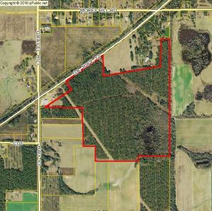 300x299 Where Sabal Trail proposes a 100-foot RoW for a 36-inch fracked methane pipeline, in Pipelne and power line already on Mitchell County property, by John S. Quarterman, for SpectraBusters.org, 10 July 2014