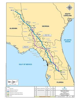 GreenLaw Alternative 3, in Response to FERC directive of 26 August 2014, by Sabal Trail Transmission, for SpectraBusters.org, 15 September 2014