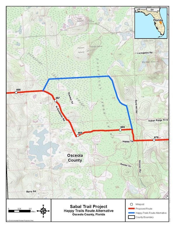 600x782 Happy Trails Route Alternative, Osceola Caunty, Florida (bare), in Sabal Trail Notice of EIS Intent, by John S. Quarterman, for SpectraBusters.org, 15 October 2014