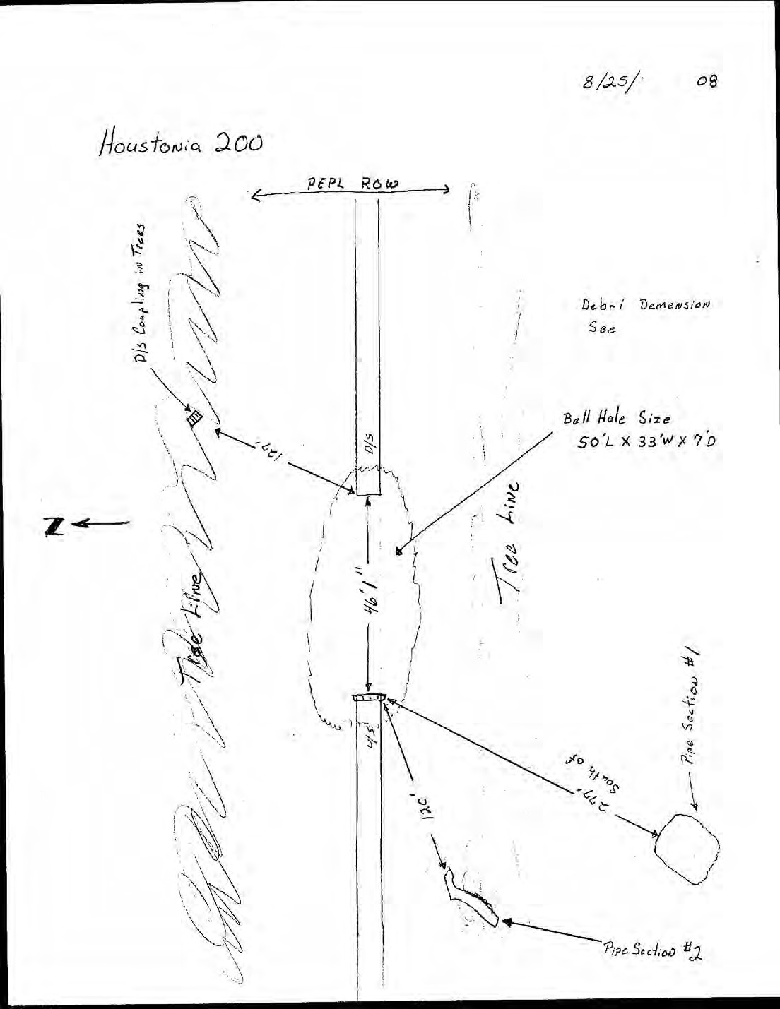 1104x1429 Diagram: Pilot Grove explosion, in Pilot Grove, MO PEPL explosion, by John S. Quarterman, for SpectraBusters.org, 25 August 2008