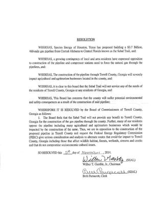 300x388 Resolution, in Agriculture over pipeline: Terrell County resolution against Sabal Trail, by John S. Quarterman, for SpectraBusters.org, 5 November 2014