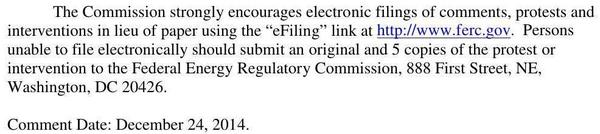 600x134 eFiling by 24 December 2014, in Sabal Trail Notice of Application, by FERC, for SpectraBusters.org, 3 December 2014