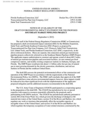 300x388 Notice, NEPA, USACE, in Notice of Availability of Draft Environmental Impact Statement, by FERC, for SpectraBusters.org, 4 September 2015