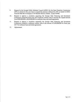 Agenda page 2