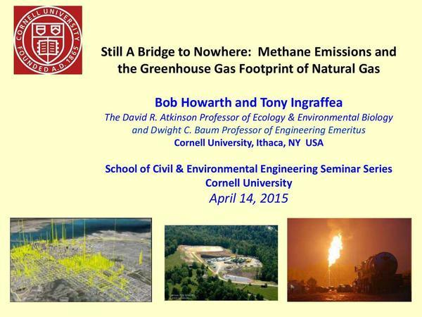 600x450 Cover, in Still A Bridge to Nowhere: Methane Emissions and the Greenhouse Gas Footprint of Natural Gas, by Bob Howarth and Tony lngraffea, 14 April 2015