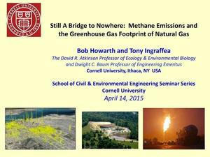300x225 Cover, in Still A Bridge to Nowhere: Methane Emissions and the Greenhouse Gas Footprint of Natural Gas, by Bob Howarth and Tony lngraffea, 14 April 2015
