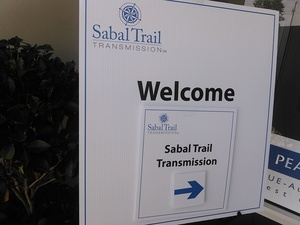 Echoing Sabal Trail signs
