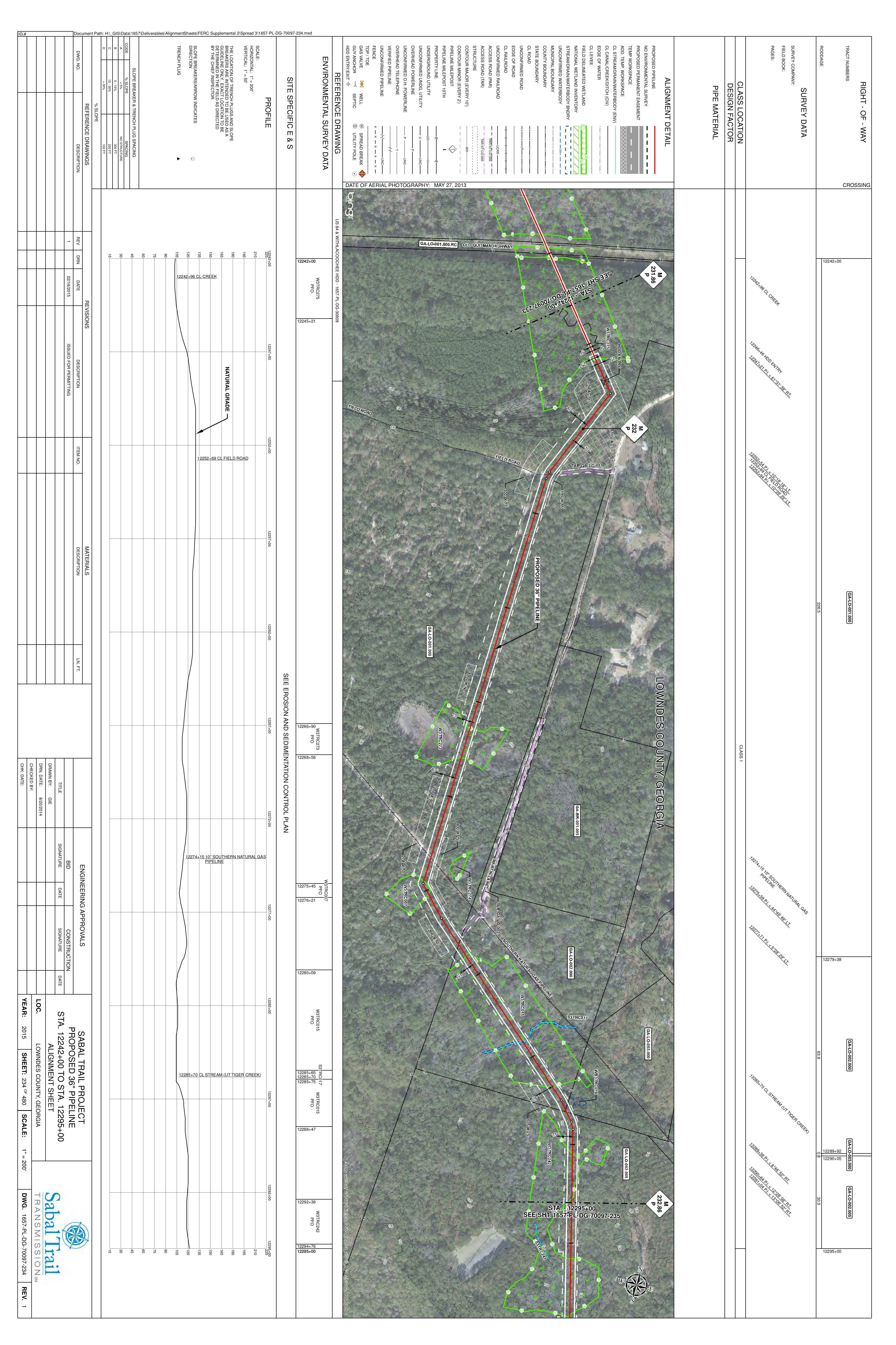 3600x5400 STA. 12242+00 TO STA. 12295+00, Martin Lane, Tiger Creek, in Lowndes County, GA, by Sabal Trail Transmission, for WWALS.net, 14 August 2015