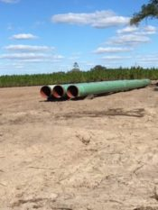 Suwannee County Sabal Trail Pipeline