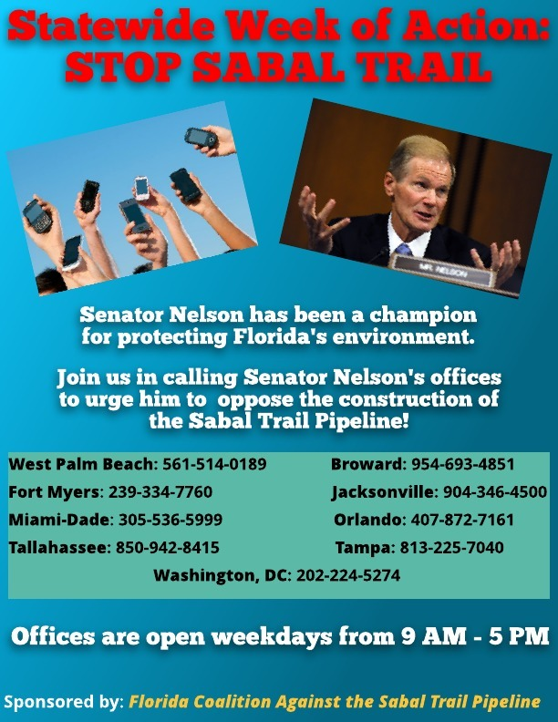 612x792 NelsonSabalCalls, in Ask FL Sen. Nelson to oppose Sabal Trail, by Tim Canova, for SpectraBusters.org, 18 April 2017