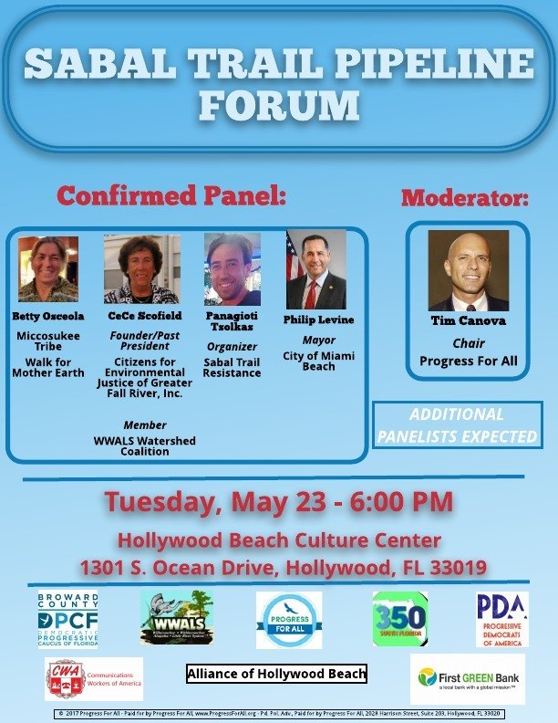 612x792 Flyer, in Sabal Trail Pipeline Forum, Hollywood, FL, by John S. Quarterman, for SpectraBusters.org, 23 May 2017